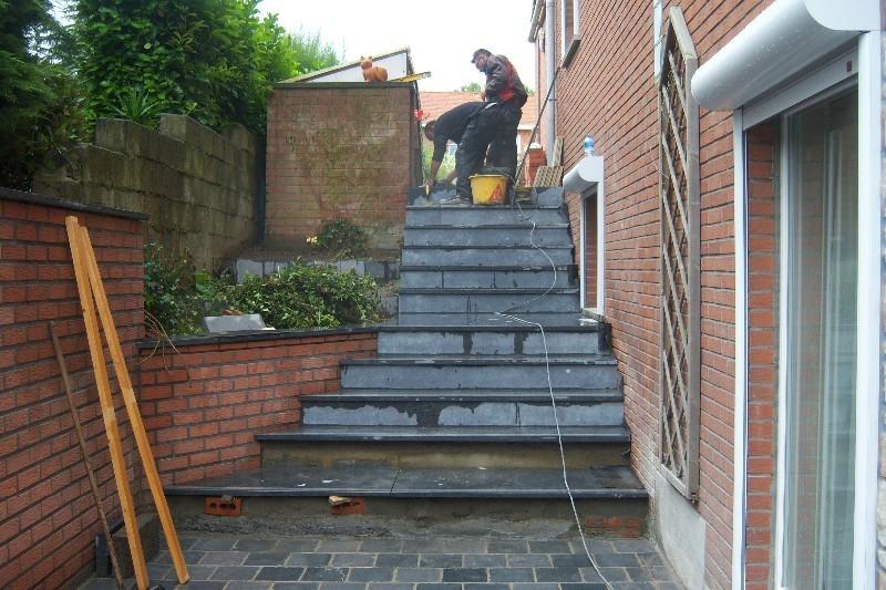 Escalier bleue exterieur 28 images escalier exterieur for Pierre pour marche escalier exterieur