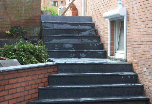 Réalisation d'un escalier